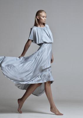 Голубое платье #19