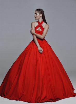 Красное платье #15