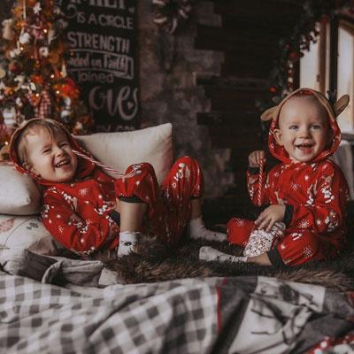 Детские новогодние пижамы напрокат