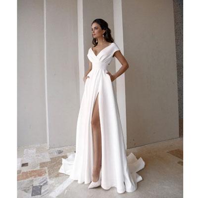 Белое платье со шлейфом напрокат в аренду в Нижнем Новгороде