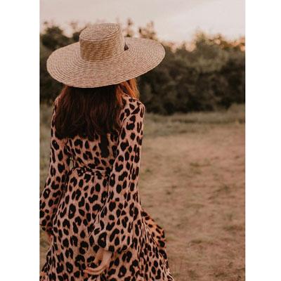 леопардовое платье напрокат