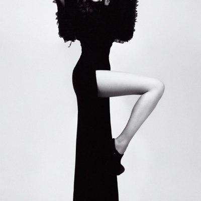Черное платье #37